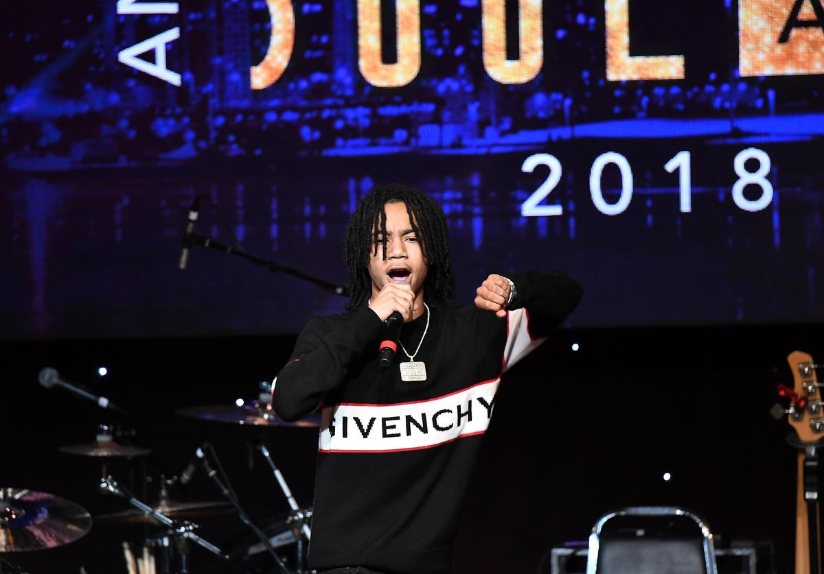 YBN Nahmir performs onstage at the 31st Annual ASCAP Rhythm & Soul Music Awards at the Beverly Wilshire Four Seasons Hotel on June 21, 2018 in Beverly Hills, California.