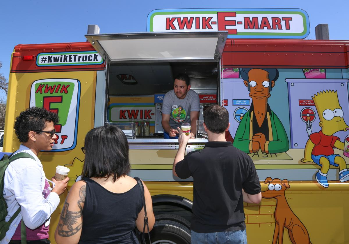 Guests attend Kwik-E-Mart At SXSW 2015 on March 14, 2015 in Austin, Texas.