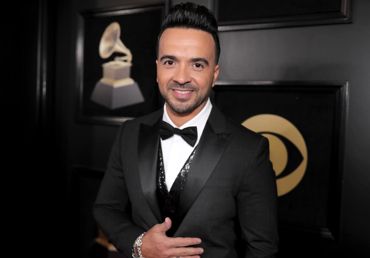 Singer Luis Fonsi attends the 60th Annual GRAMMY Awards at Madison Square Garden on January 28, 2018 in New York City