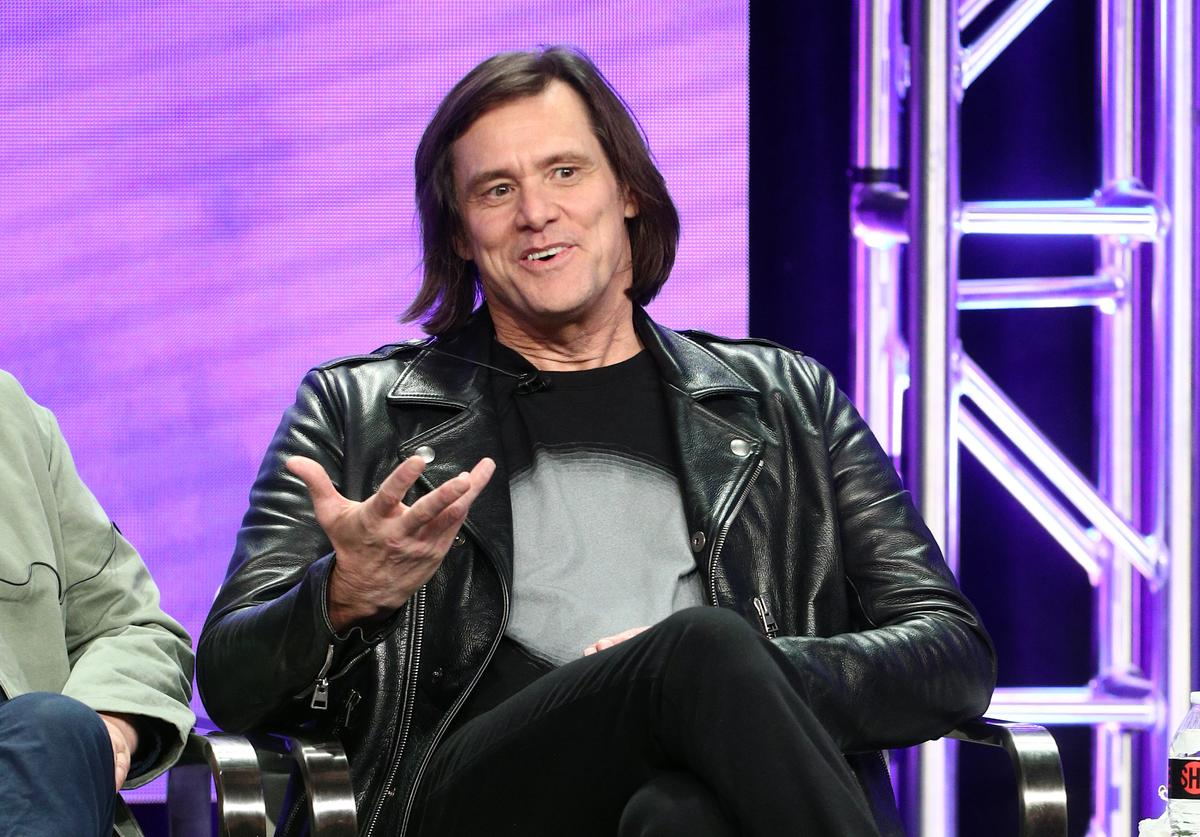 Executive producer/actor Jim Carrey from 'Kidding' speaks onstage at the Showtime Network portion of the Summer 2018 TCA Press Tour at The Beverly Hilton Hotel on August 6, 2018 in Beverly Hills, California.