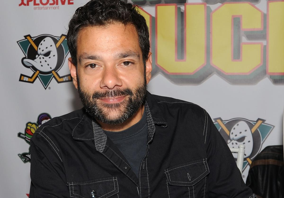 Shaun Weiss from the movie 'The Mighty Ducks' attends day 2 of the Chiller Theater Expo at Sheraton Parsippany Hotel on April 25, 2015 in Parsippany, New Jersey.