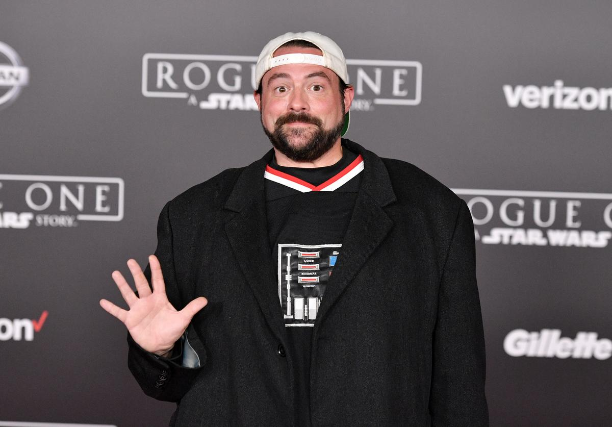 Director Kevin Smith attends the premiere of Walt Disney Pictures and Lucasfilm's 'Rogue One: A Star Wars Story' at the Pantages Theatre on December 10, 2016 in Hollywood, California.