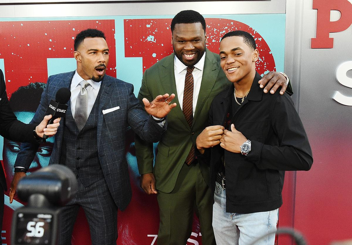 Power cast Kanan, Tariq and Ghost