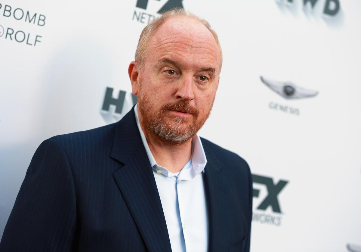 Louis C.K. attends FX and Vanity Fair Emmy Celebration at Craft on September 16, 2017 in Century City, California.
