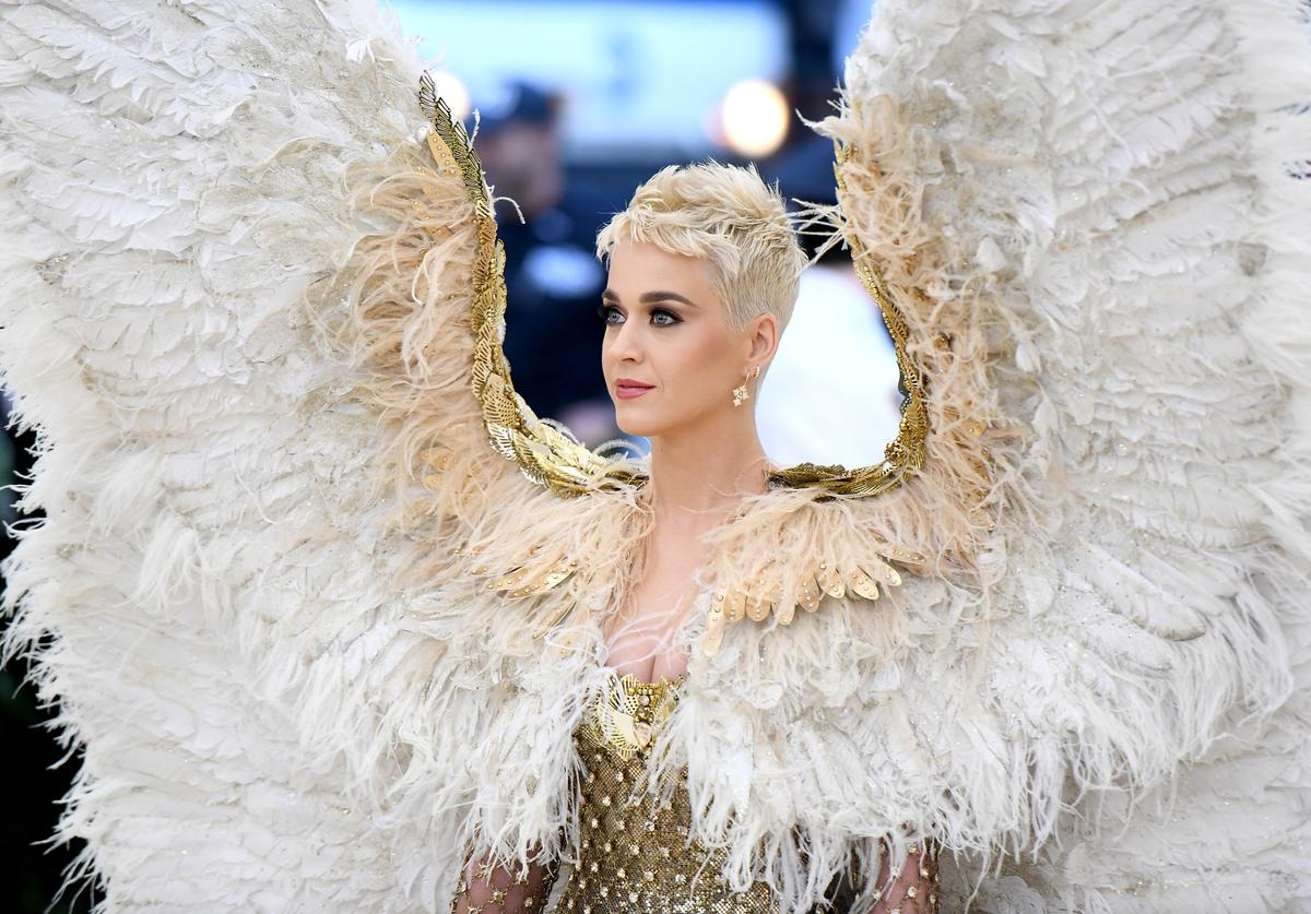 Recording artist Katy Perry attends the Heavenly Bodies: Fashion & The Catholic Imagination Costume Institute Gala at The Metropolitan Museum of Art on May 7, 2018 in New York City.