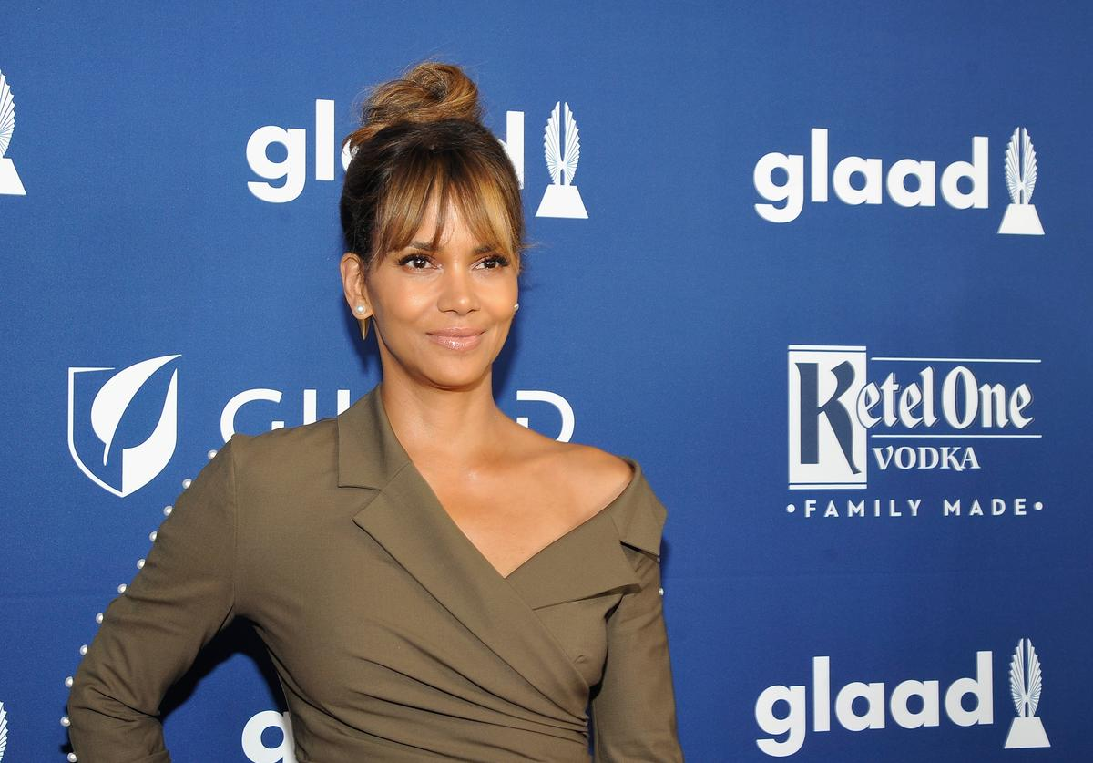 Halle Berry celebrates achievements in LGBTQ community at the 29th Annual GLAAD Media Awards Los Angeles, in partnership with LGBTQ ally, Ketel One Family-Made Vodka at The Beverly Hilton Hotel on April 12, 2018 in Beverly Hills, California.