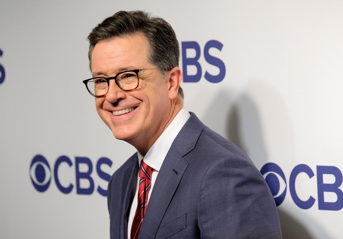Stephen Colbert attends the 2018 CBS Upfront at The Plaza Hotel on May 16, 2018 in New York City