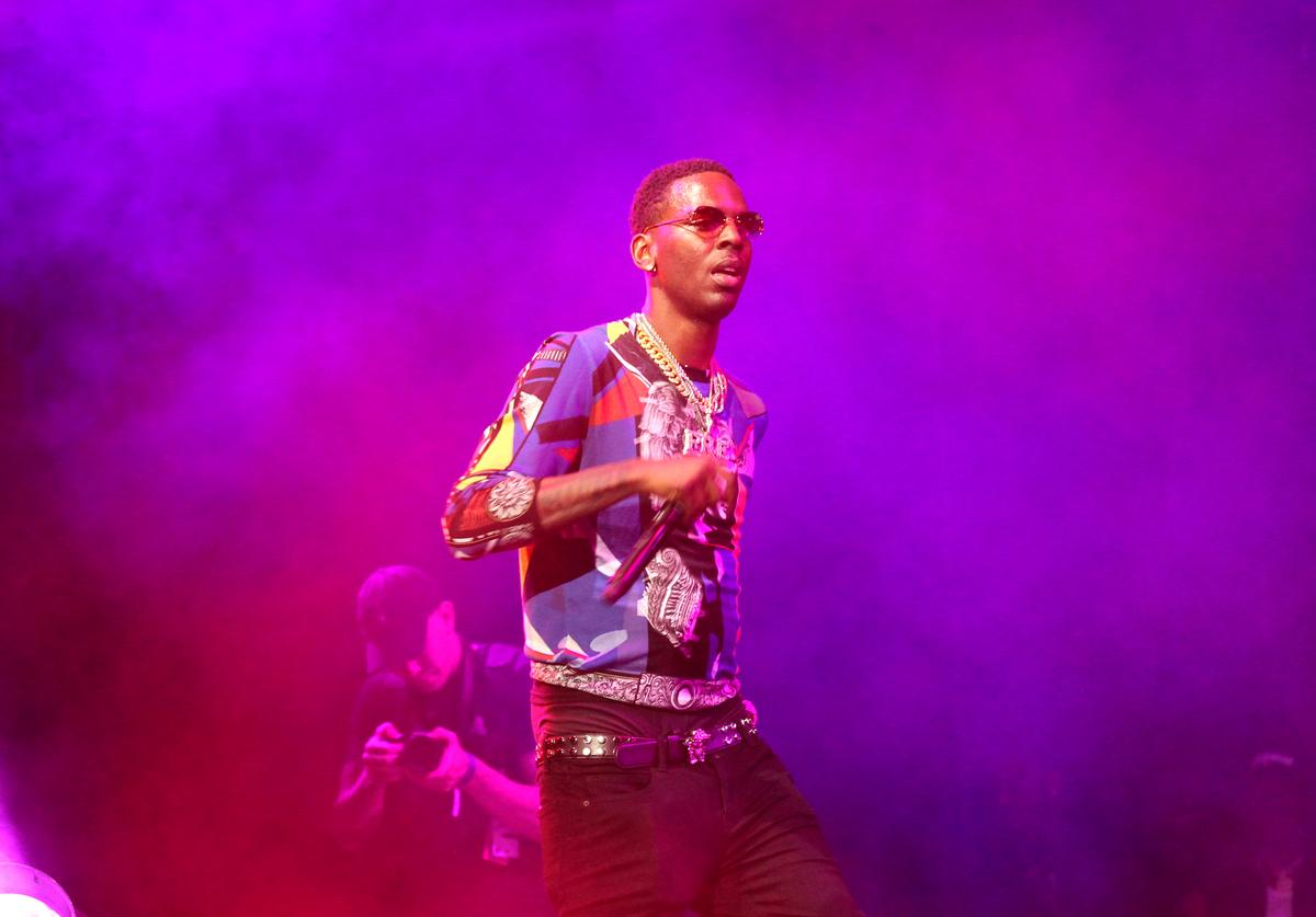 Young Dolph performs onstage at night three of the STAPLES Center Concert, sponsored by Sprite, during the 2017 BET Experience at Staples Center on June 24, 2017 in Los Angeles, California.
