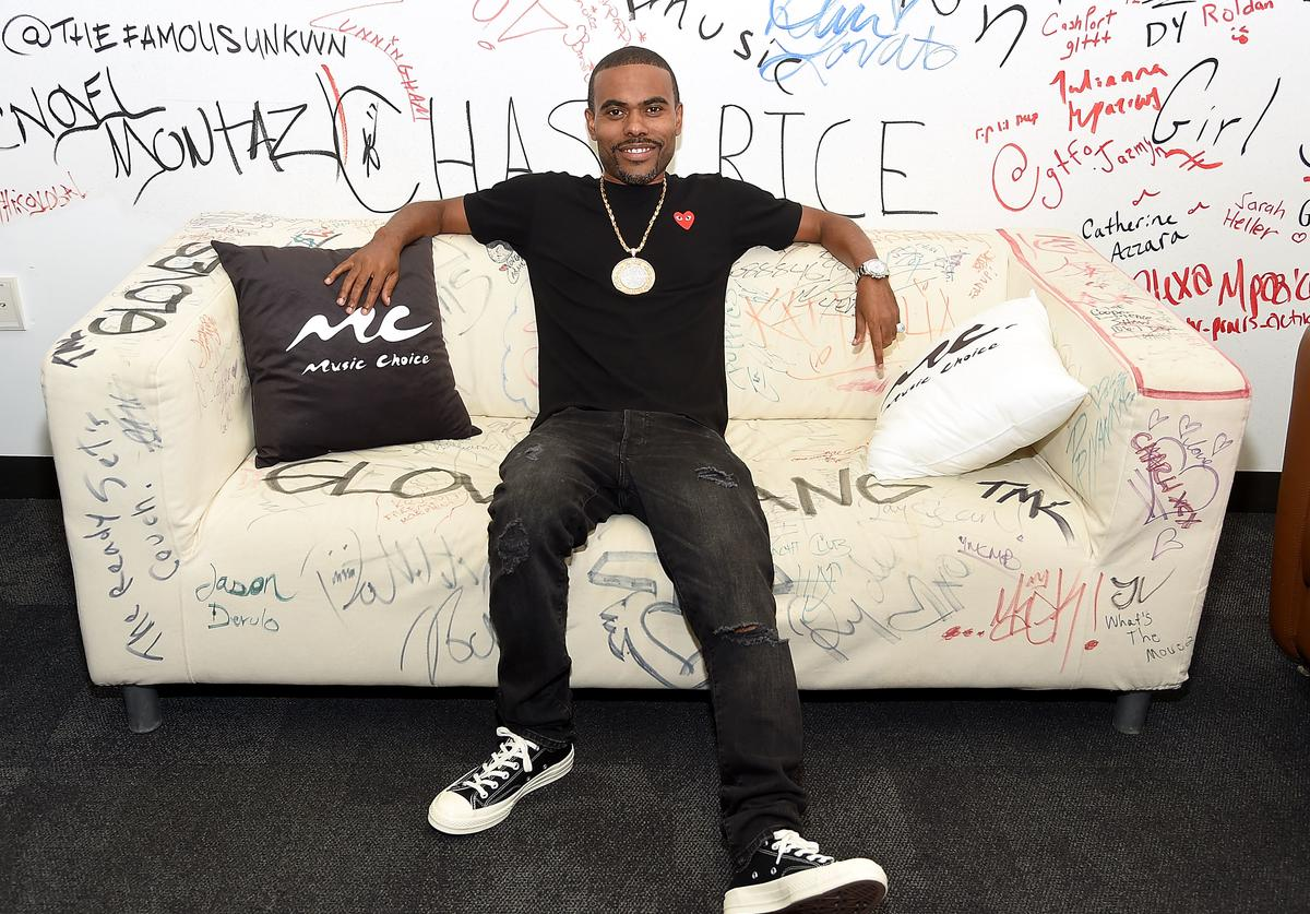 Lil Duval visits Music Choice at Music Choice on August 16, 2018 in New York City.
