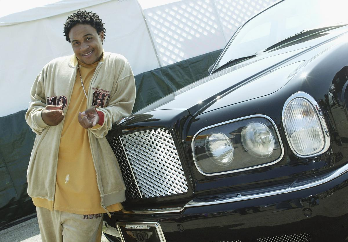 Actor Orlando Brown poses at Shaquille O'Neal's childrens benefit 'Shaqtacular VIII' held at the Santa Monica Airport on September 20, 2003 in Santa Monica, California.