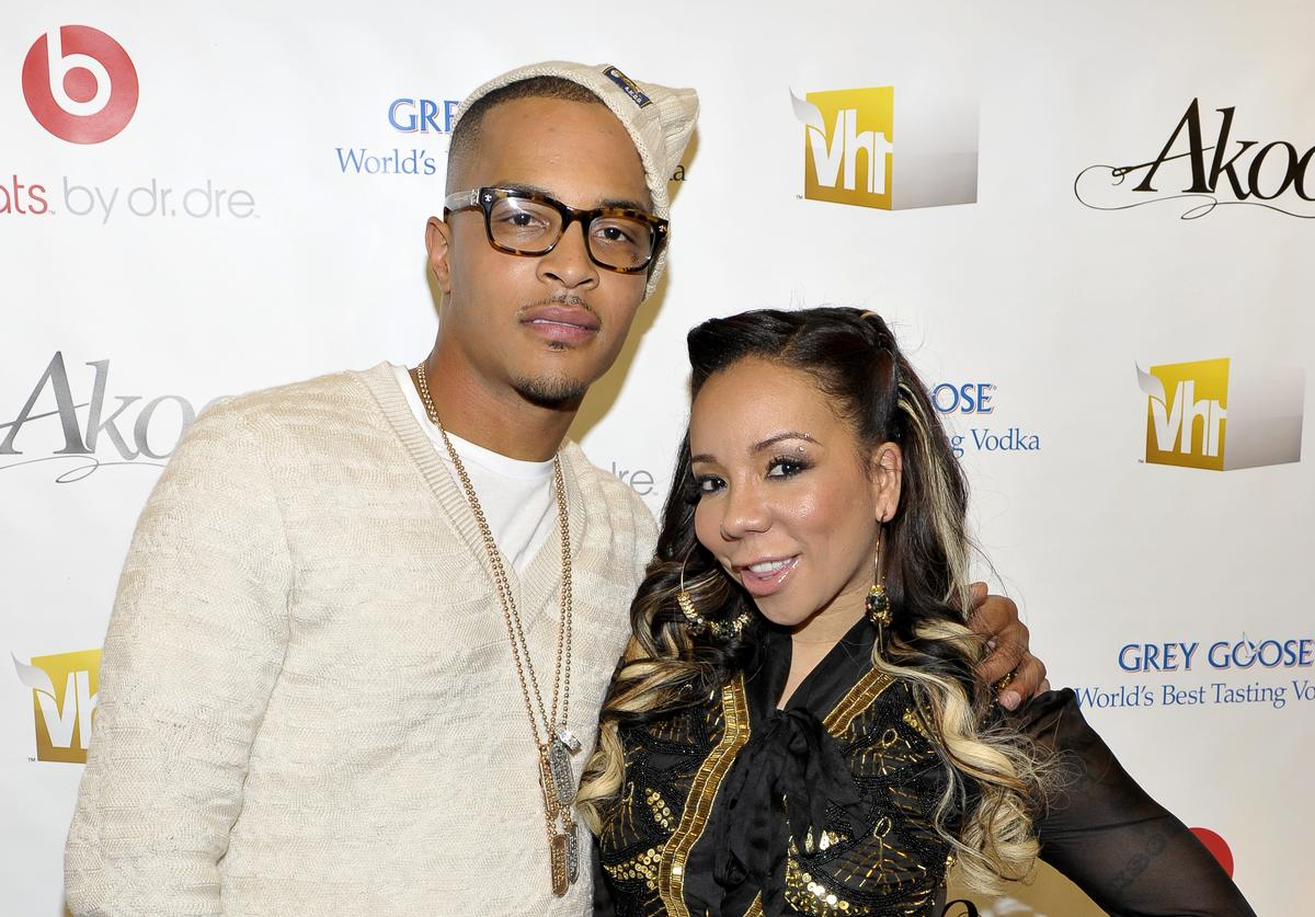 T.I. and Tiny attend the premiere screening of T.I. & Tiny: The Family Hustle at the Yotel Hotel on December 1, 2011 in New York City