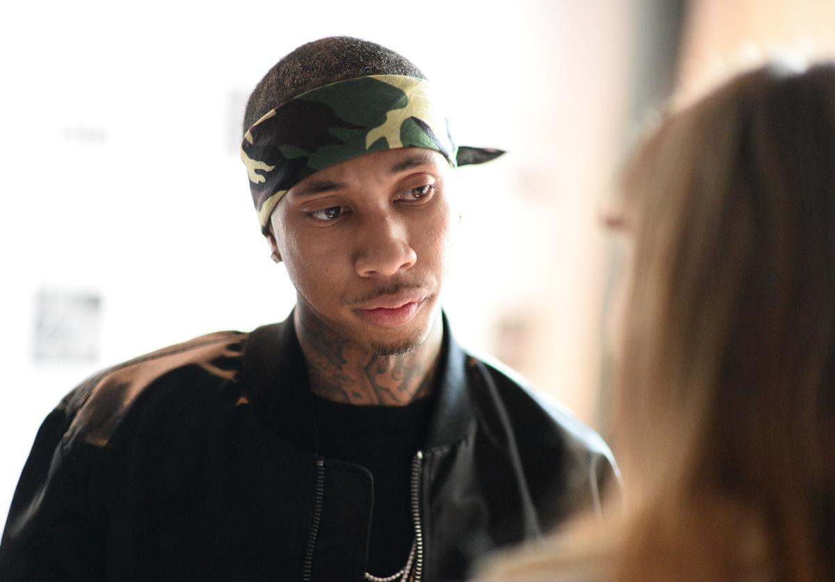 Tyga attends the Capsule Collection Party at The Blond at 11 Howard Hotel on May 12, 2016 in New York City