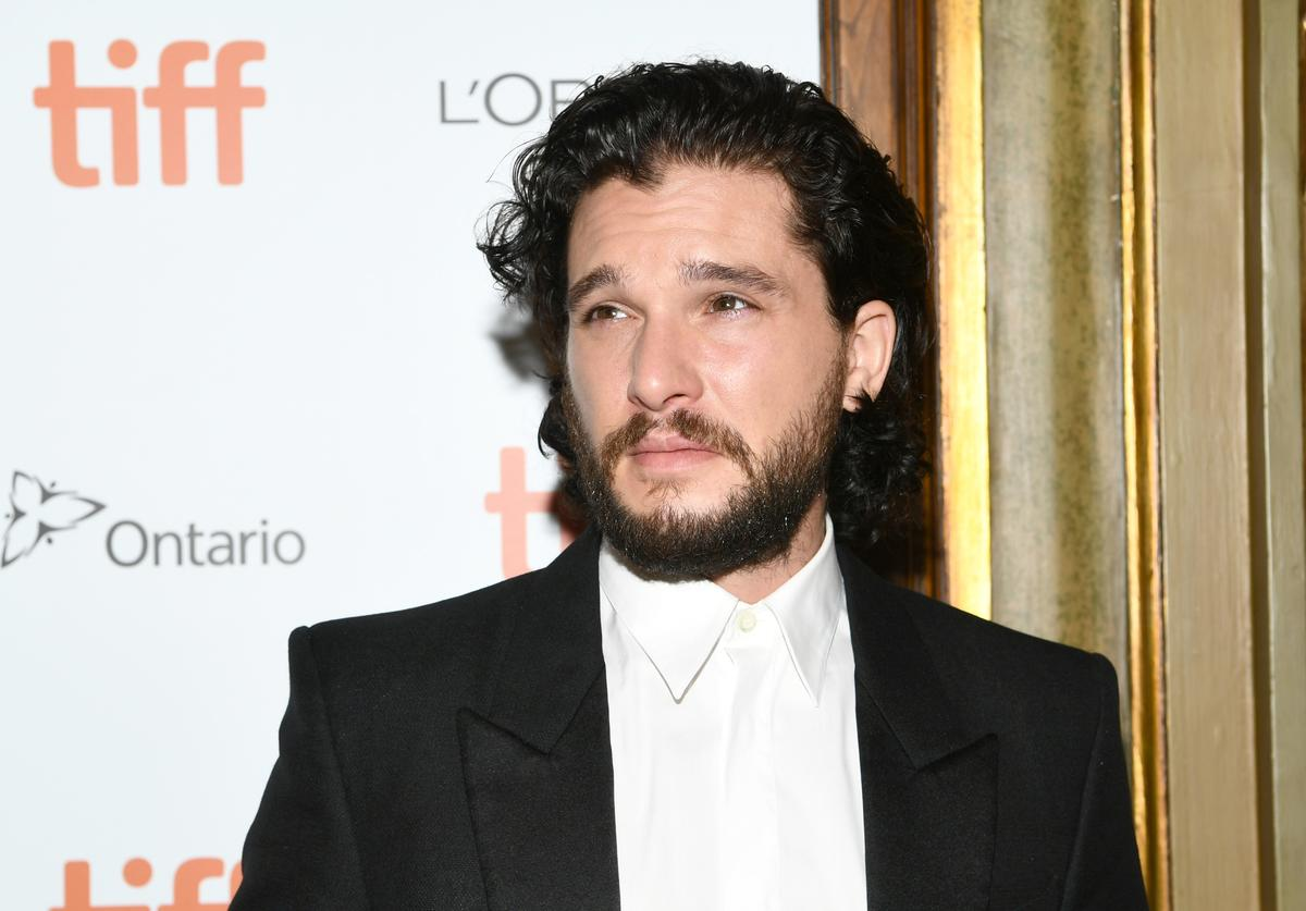 Kit Harington attends the 'The Death And Life Of John F. Donovan' premiere during 2018 Toronto International Film Festival