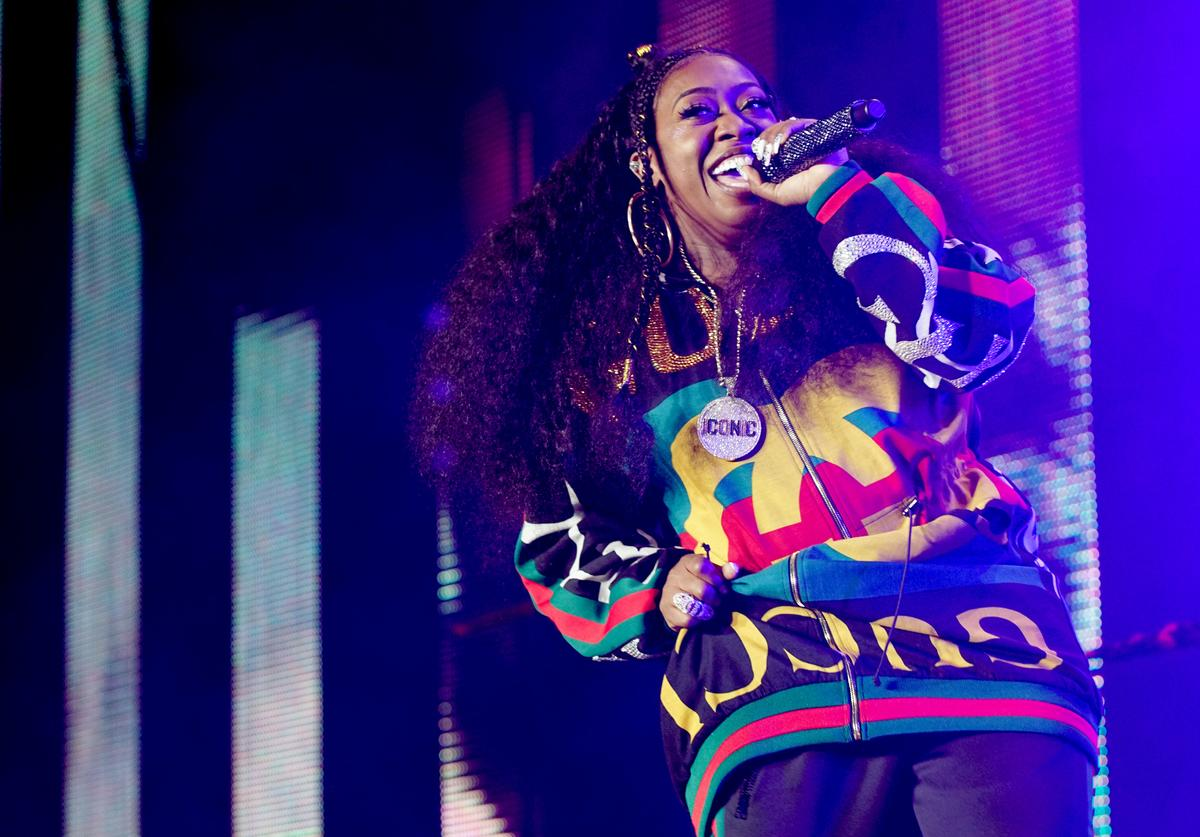 Missy Elliott performs onstage during the 2018 Essence Festival presented By Coca-Cola - Day 2 at Louisiana Superdome on July 7, 2018 in New Orleans, Louisiana