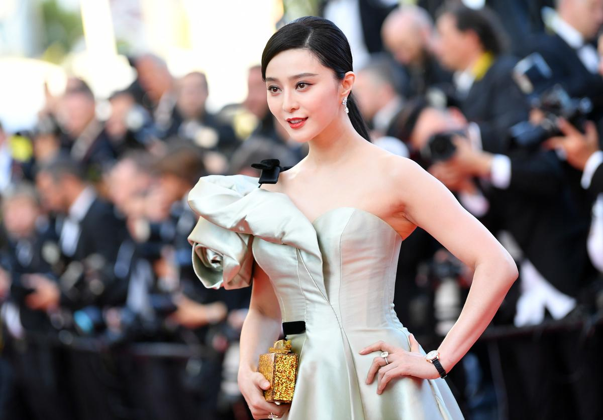 Actress Fan Bingbing attends the screening of 'Ash Is The Purest White (Jiang Hu Er Nv)' during the 71st annual Cannes Film Festival at Palais des Festivals on May 11, 2018 in Cannes, France.