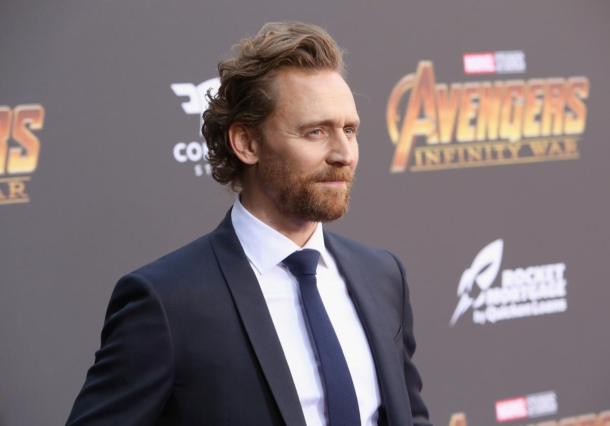 Actor Tom Hiddleston attends the Los Angeles Global Premiere for Marvel Studios' Avengers: Infinity War on April 23, 2018 in Hollywood, California.