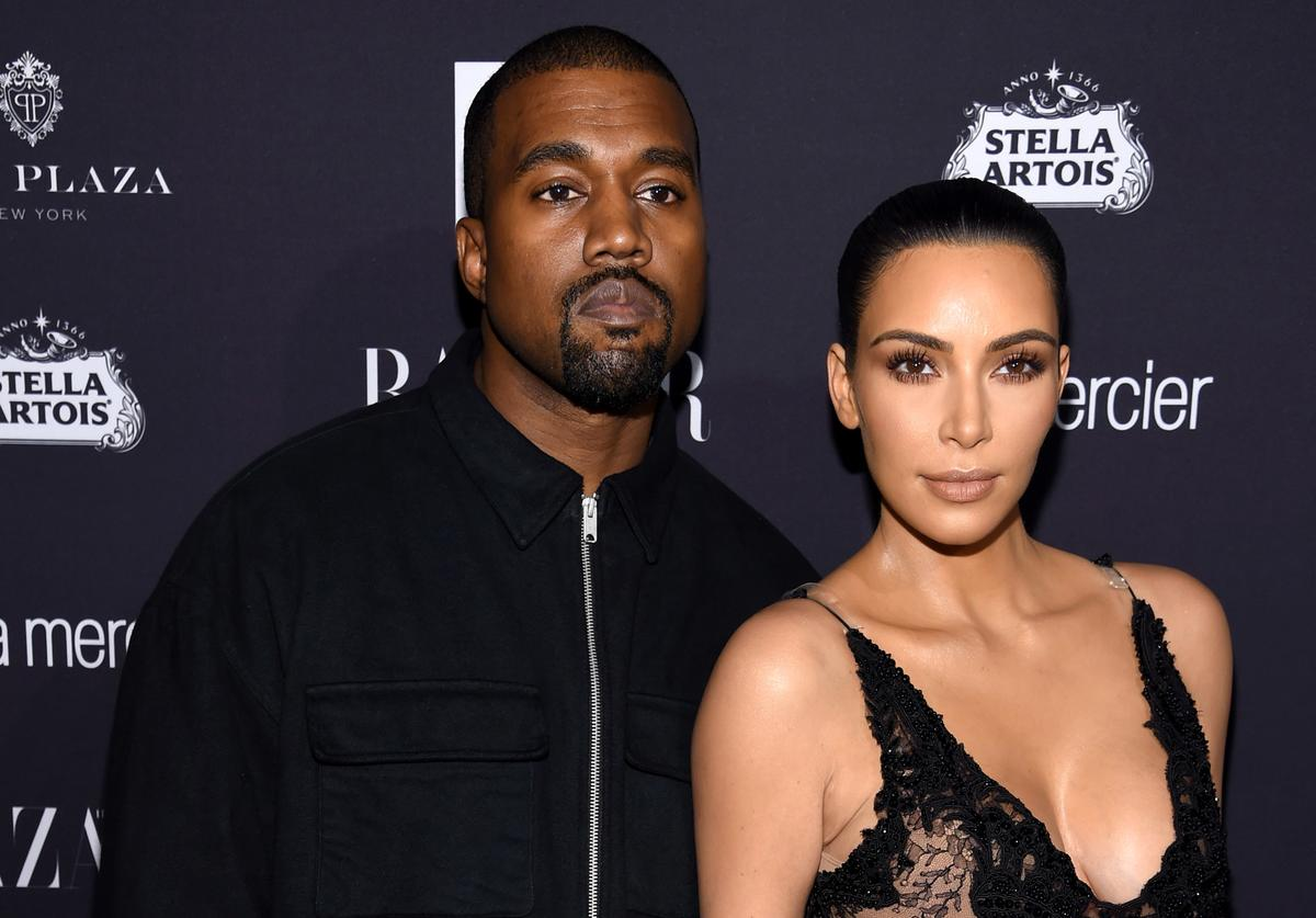 Kanye West and Kim Kardashian West attend Harper's Bazaar's celebration of 'ICONS By Carine Roitfeld' presented by Infor, Laura Mercier, and Stella Artois at The Plaza Hotel on September 9, 2016 in New York City