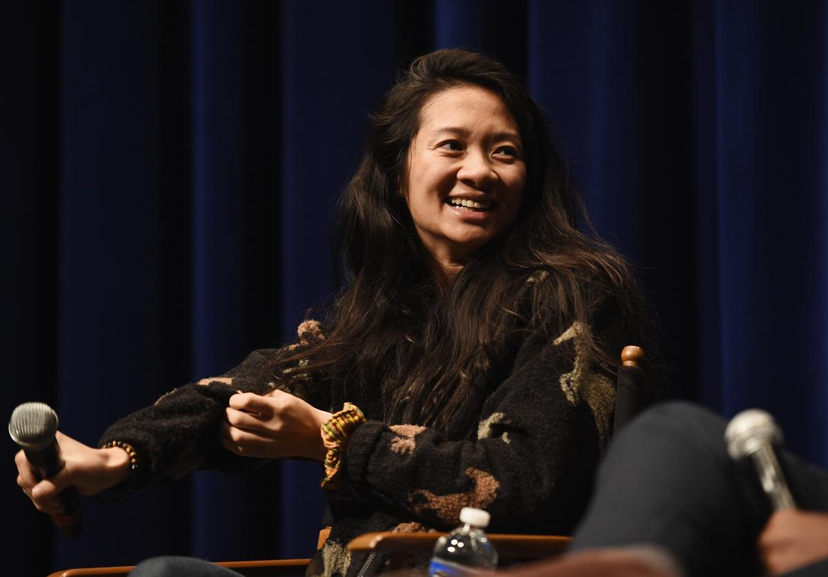 Director Chloe Zhao attends a special screening of 'The Rider' at the Writers Guild Theater on April 11, 2018 in Beverly Hills, California