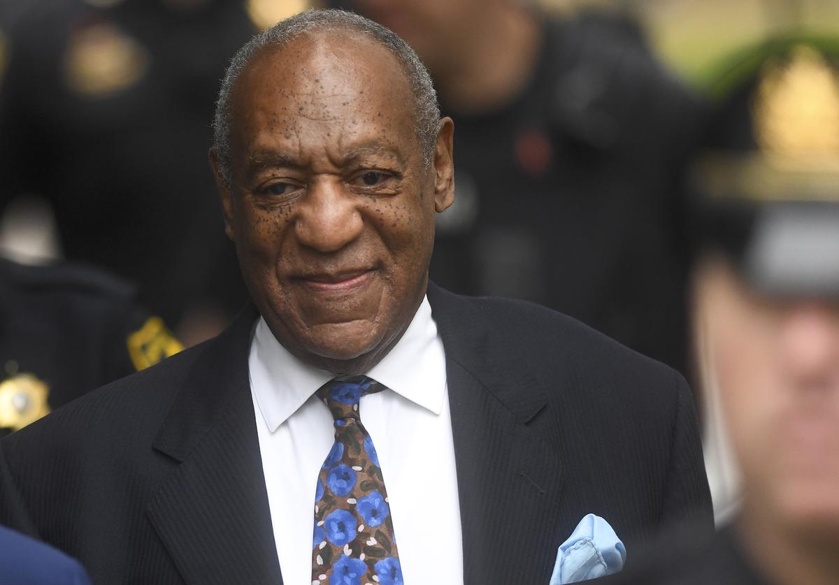 Bill Cosby arrives at the Montgomery County Courthouse on the first day of sentencing in his sexual assault trial on September 24, 2018 in Norristown, Pennsylvania