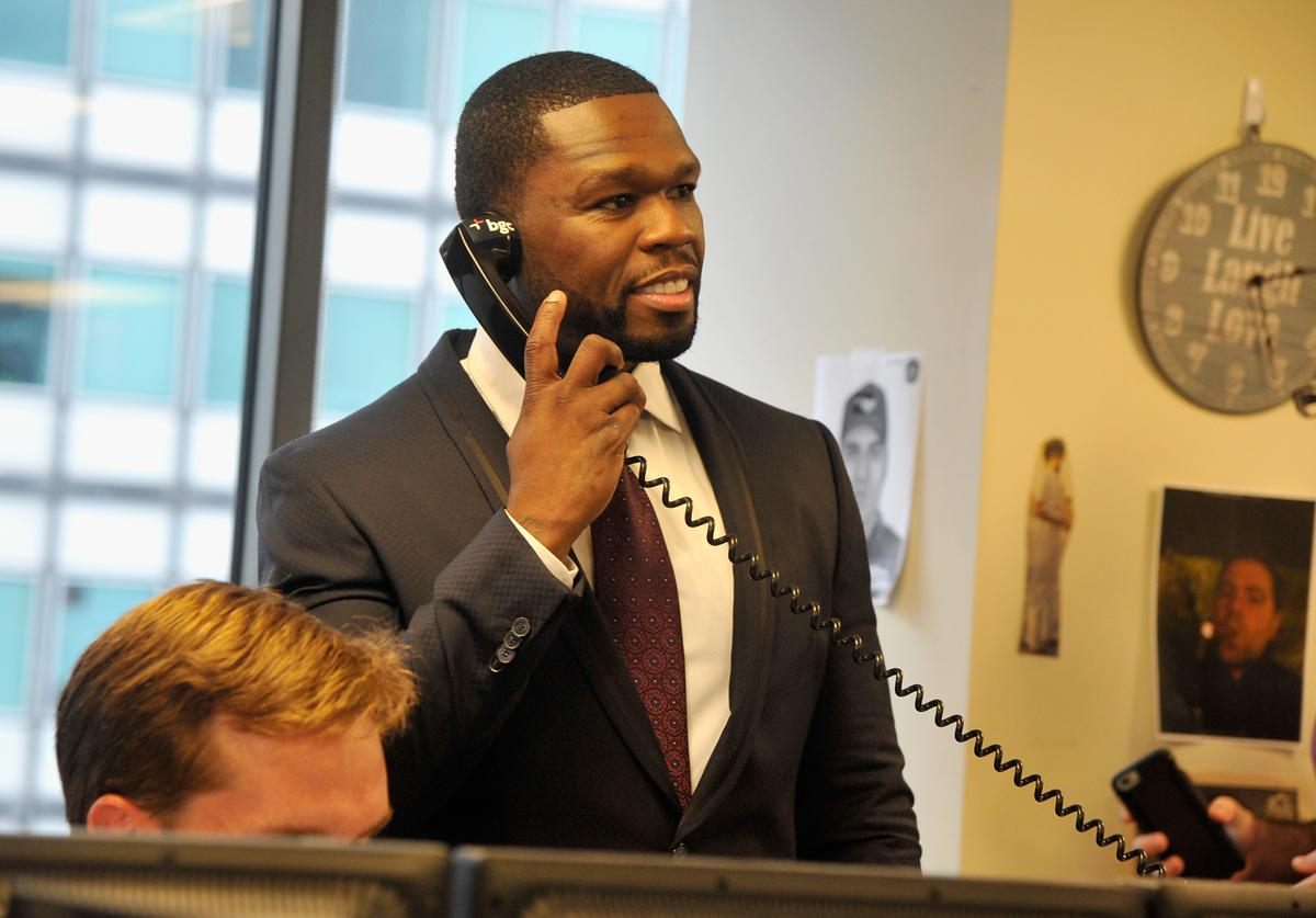 Curtis '50 Cent' Jackson attends Annual Charity Day hosted by Cantor Fitzgerald and BGC at BGC Partners, INC on September 11, 2015 in New York City