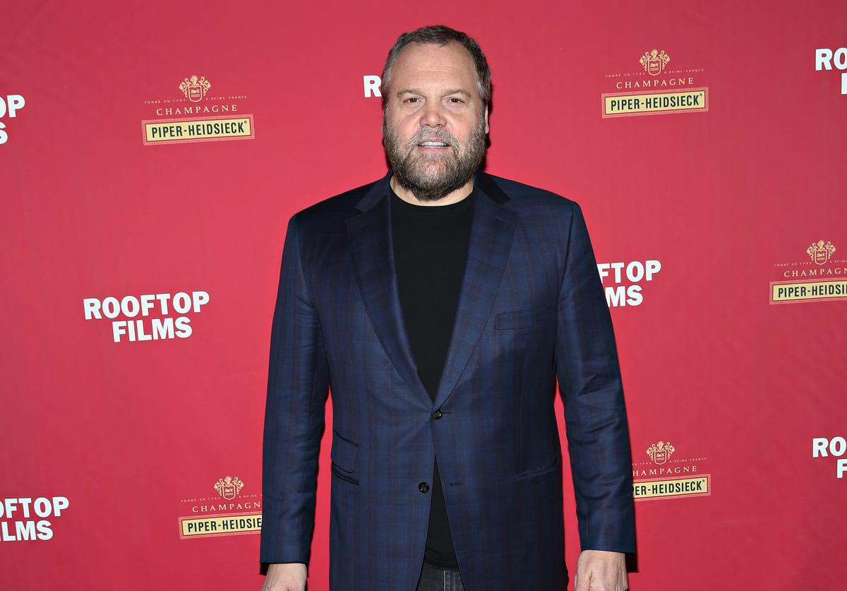 Vincent D'Onofrio attends as Champagne Piper-Heidsieck and Rooftop Films present a special preview of Ethan Hawke's new documentary 'Seymour: An Introduction' at St. Barts on March 12, 2015 in New York City.