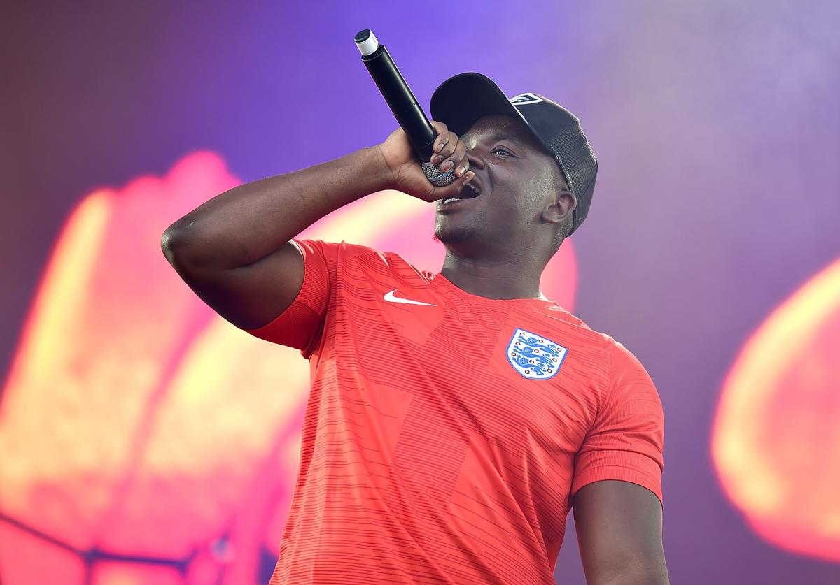 Big Shaq performs on the Main Stage during Wireless Festival 2018 at Finsbury Park on July 7, 2018 in London, England