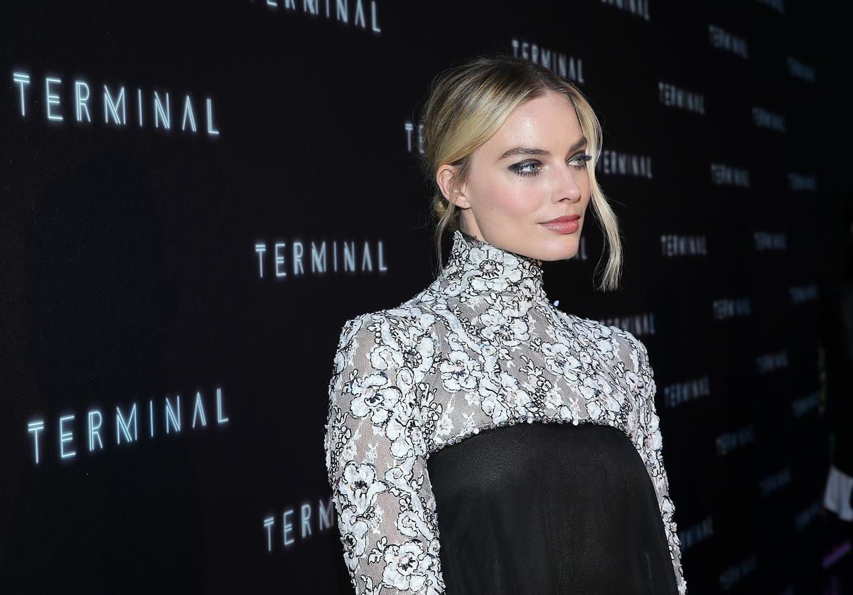 Margot Robbie attends the premiere of RLJE Films' 'Terminal' at ArcLight Cinemas on May 8, 2018 in Hollywood, California.