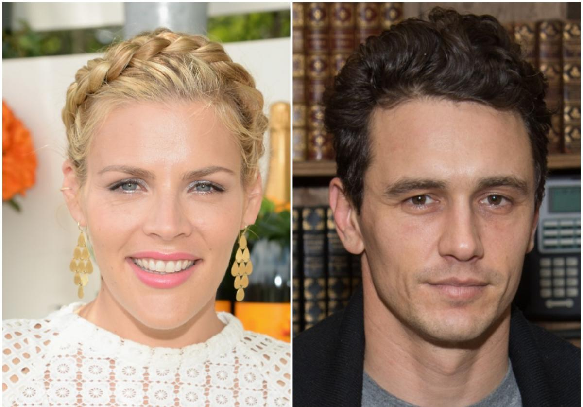 Busy Phillips, James Franco