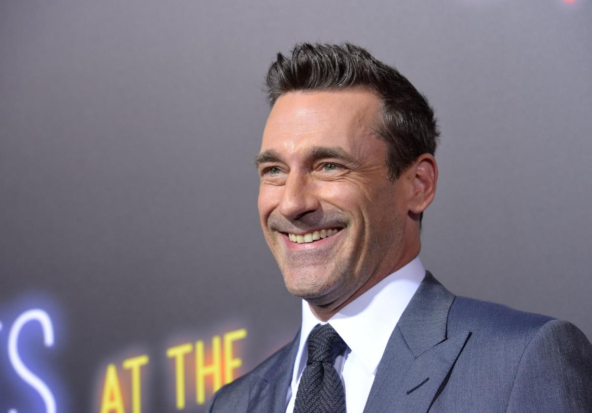 John Hamm attends the premiere of 20th Century FOX's 'Bad Times At The El Royale' at TCL Chinese Theatre on September 22, 2018 in Hollywood, California.