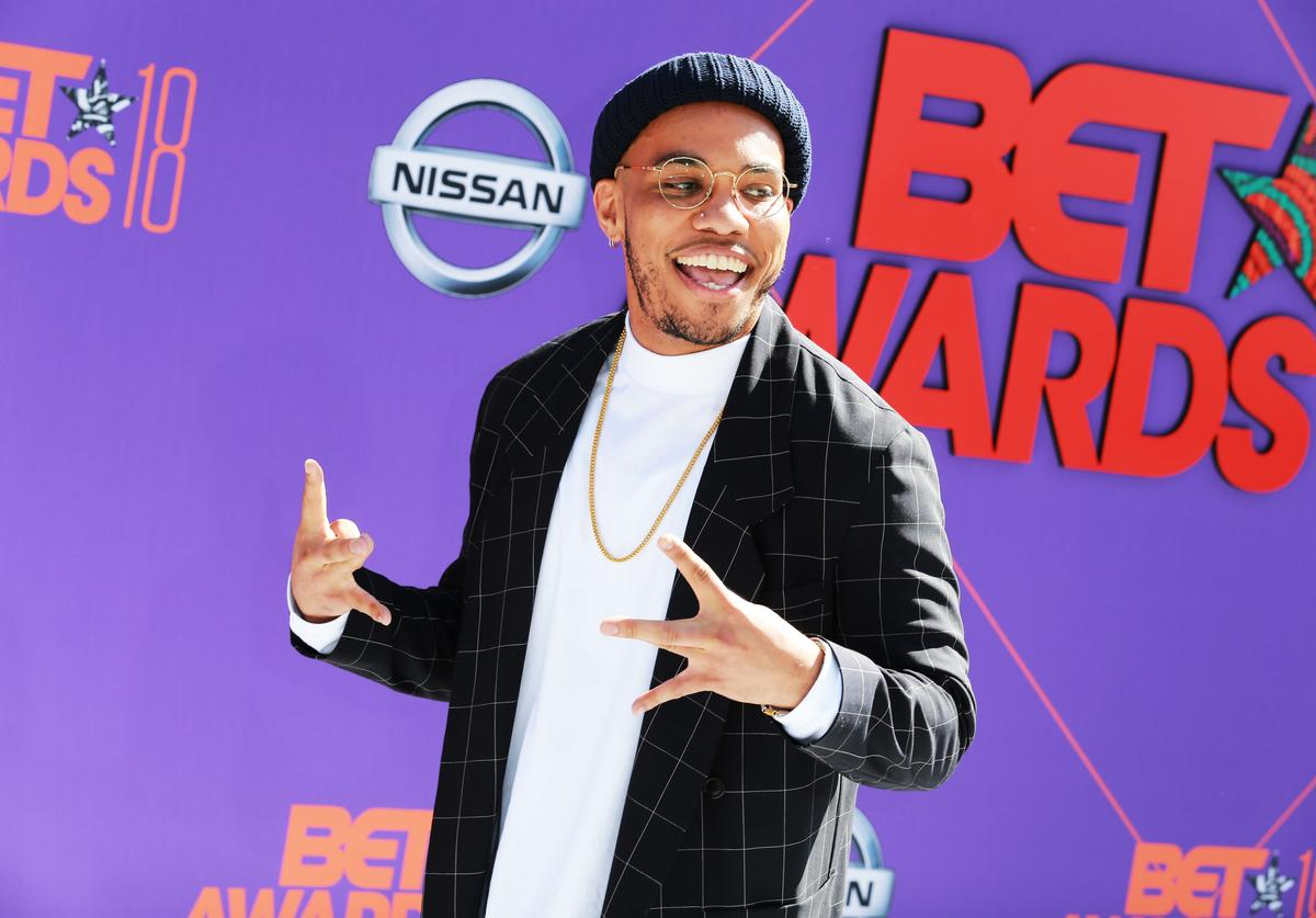 Anderson .Paak attends the 2018 BET Awards at Microsoft Theater on June 24, 2018 in Los Angeles, California.
