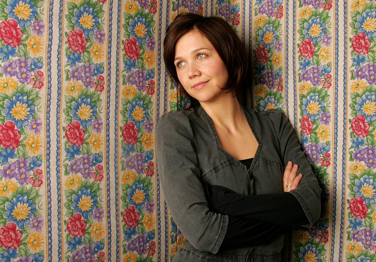 Actress Maggie Gyllenhaal from the film 'Happy Endings' poses for portraits during the 2005 Sundance Film Festival January 21, 2005 in Park City, Utah.