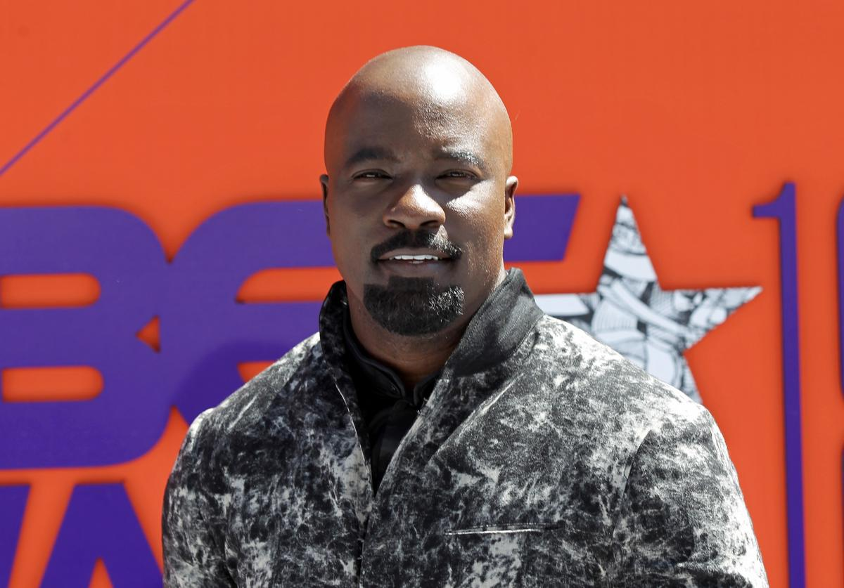 Mike Colter attends the 2018 BET Awards at Microsoft Theater on June 24, 2018 in Los Angeles, California.
