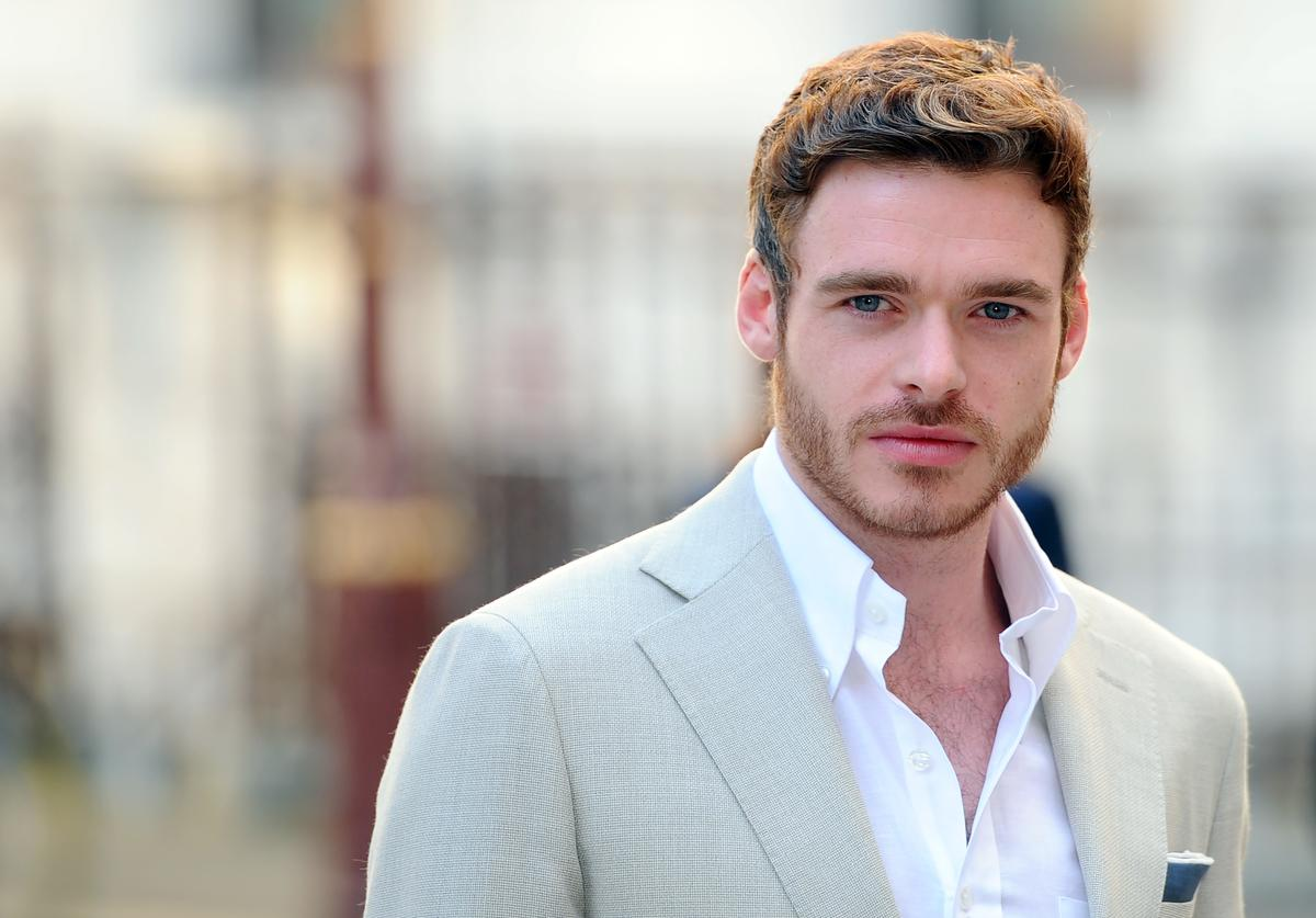 Richard Madden attends the Royal Academy of Arts Summer Exhibition on June 3, 2015 in London, England.