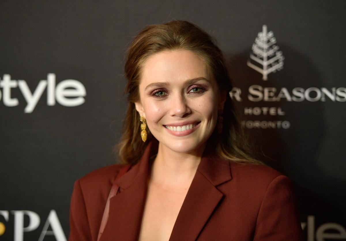 Elizabeth Olsen attends 2018 HFPA and InStyle's TIFF Celebration at the Four Seasons Hotel on September 8, 2018 in Toronto, Canada.