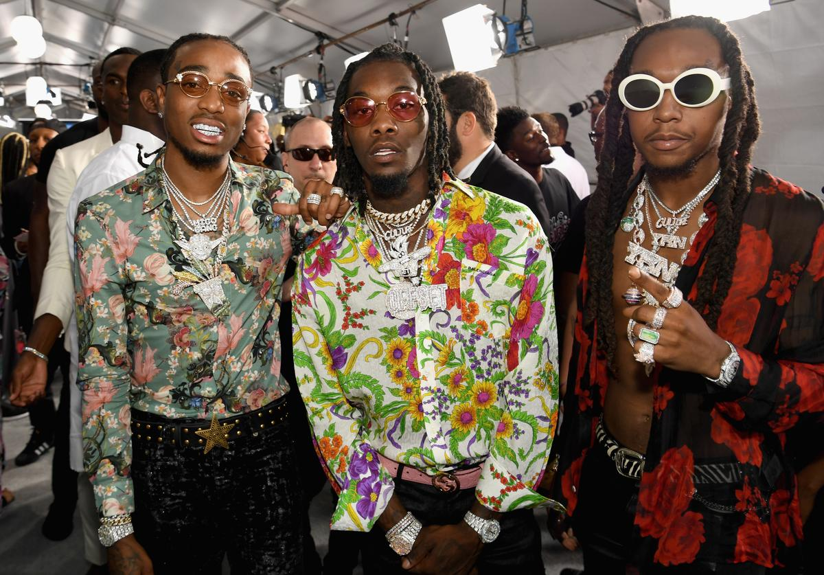 Migos at the 2017 BET Awards at Staples Center on June 25, 2017 in Los Angeles, California