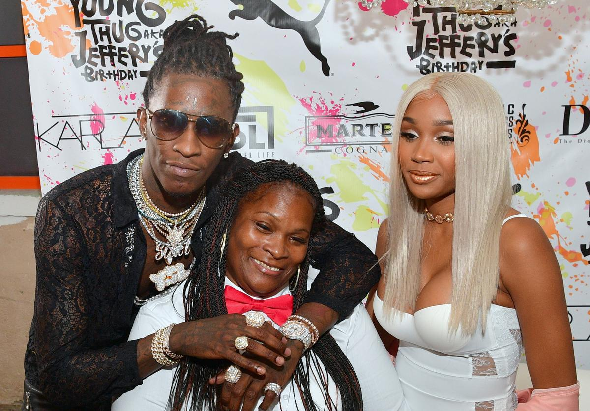 Young Thug and Jerrika Karlae attend Young Thugs 25th Birthday and PUMA campaign on August 15, 2016 in Atlanta, Georgia