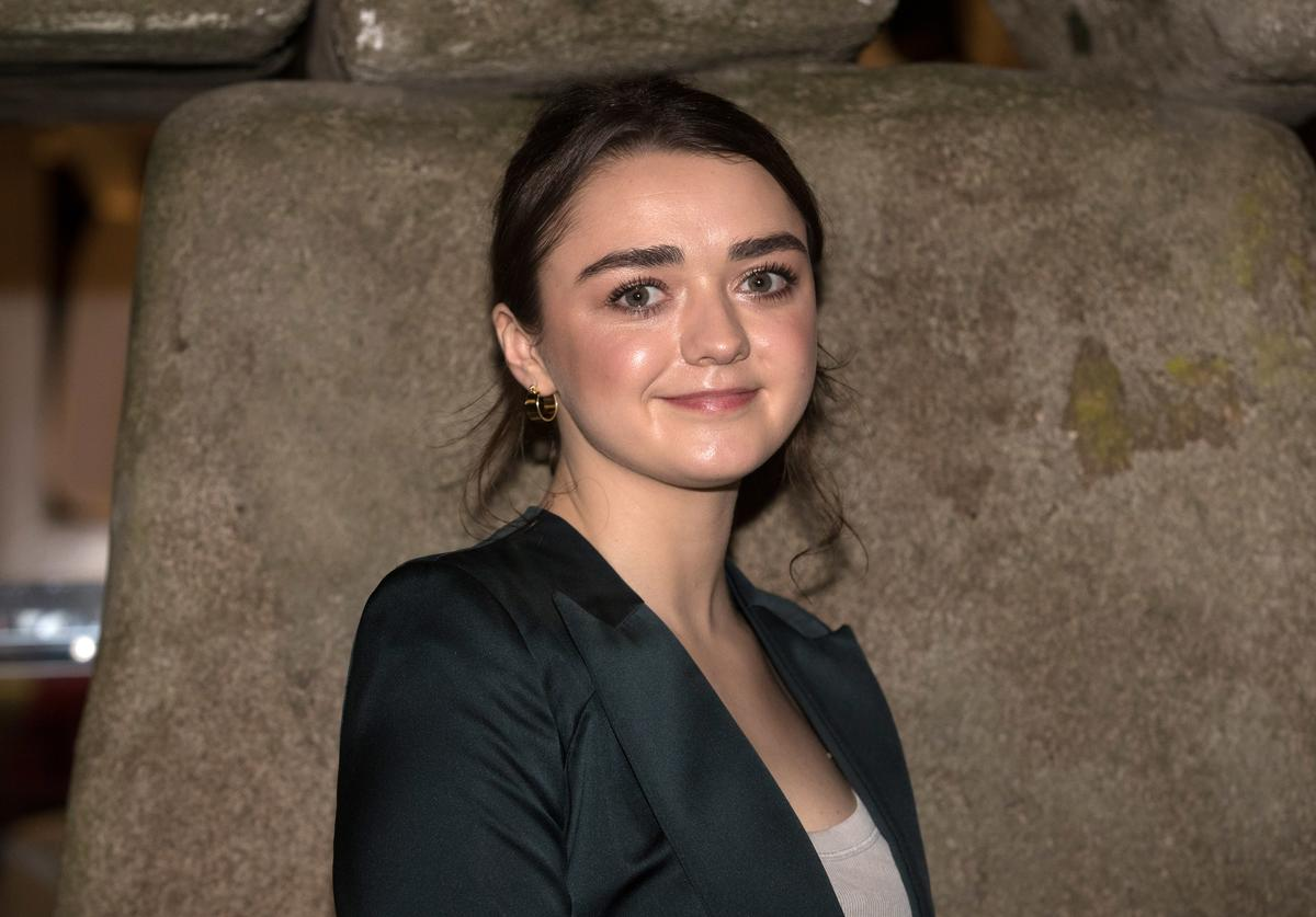 Maisie Williams attends the Bristol premiere of 'Early Man' at Showcase Cinema de Lux Bristol on January 21, 2018 in Bristol, England.