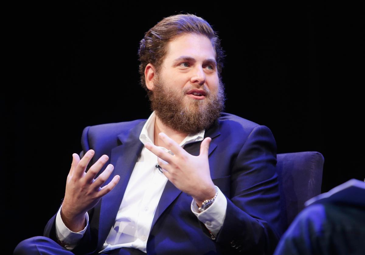 Jonah Hill speaks at The New Yorker Festival 2016 - Jonah Hill talks with David Remnick at Acura at SIR Stage37 on October 8, 2016 in New York City