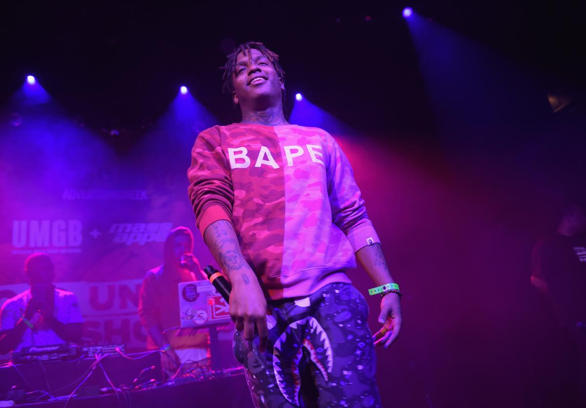 Ski Mask the Slump God performs onstage at Music Is Universal Hip-Hop Showcase presented by UMGB + Mass Appeal on September 25, 2017 in New York City