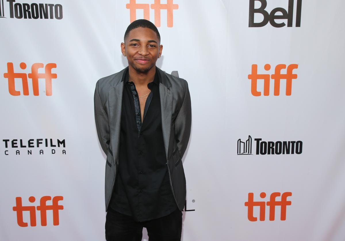 Kaalan Rashad Walker attends the 'Kings' premiere during the 2017 Toronto International Film Festival at Roy Thomson Hall on September 13, 2017 in Toronto, Canada