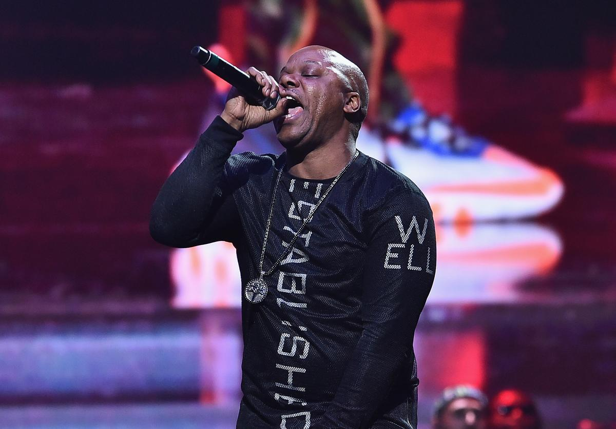 Too Short performs onstage during the 4th Annual TIDAL X: Brooklyn at Barclays Center of Brooklyn on October 23, 2018 in New York City