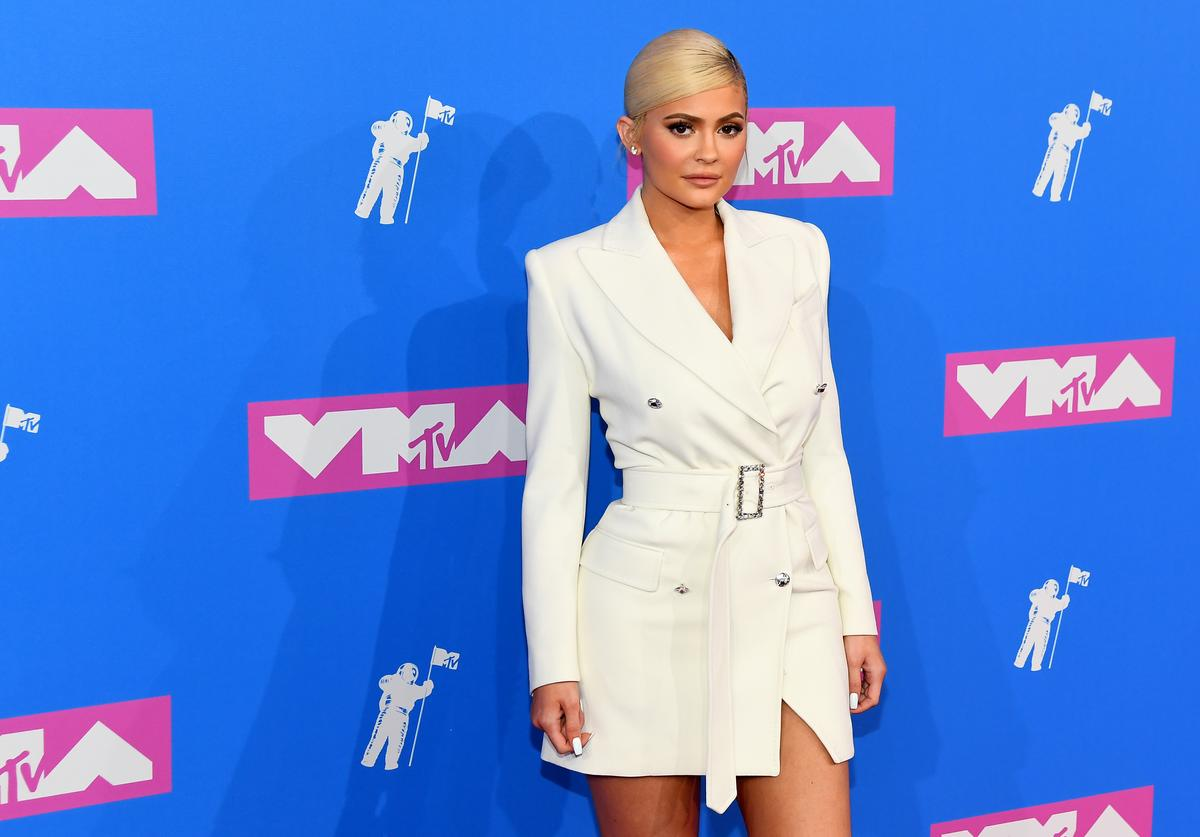 Kylie Jenner attends the 2018 MTV Video Music Awards at Radio City Music Hall on August 20, 2018 in New York City.