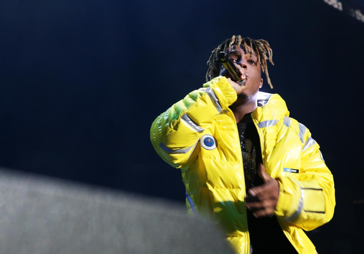 Juice Wrld performs at Power 105.1's Powerhouse 2018 at Prudential Center on October 28, 2018 in Newark, New Jersey