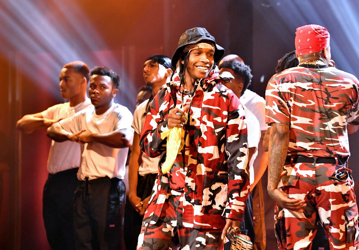 ASAP Rocky performs onstage during the BET Hip Hop Awards 2018 at Fillmore Miami Beach on October 6, 2018 in Miami Beach, Florida