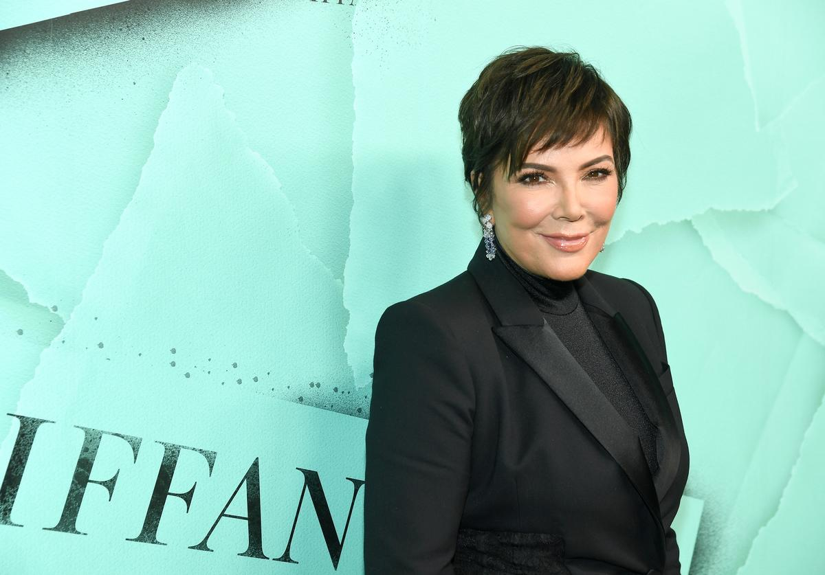 Kris Jenner attends Tiffany & Co. Celebrates 2018 Tiffany Blue Book Collection, THE FOUR SEASONS OF TIFFANY at Studio 525 on October 9, 2018 in New York City.