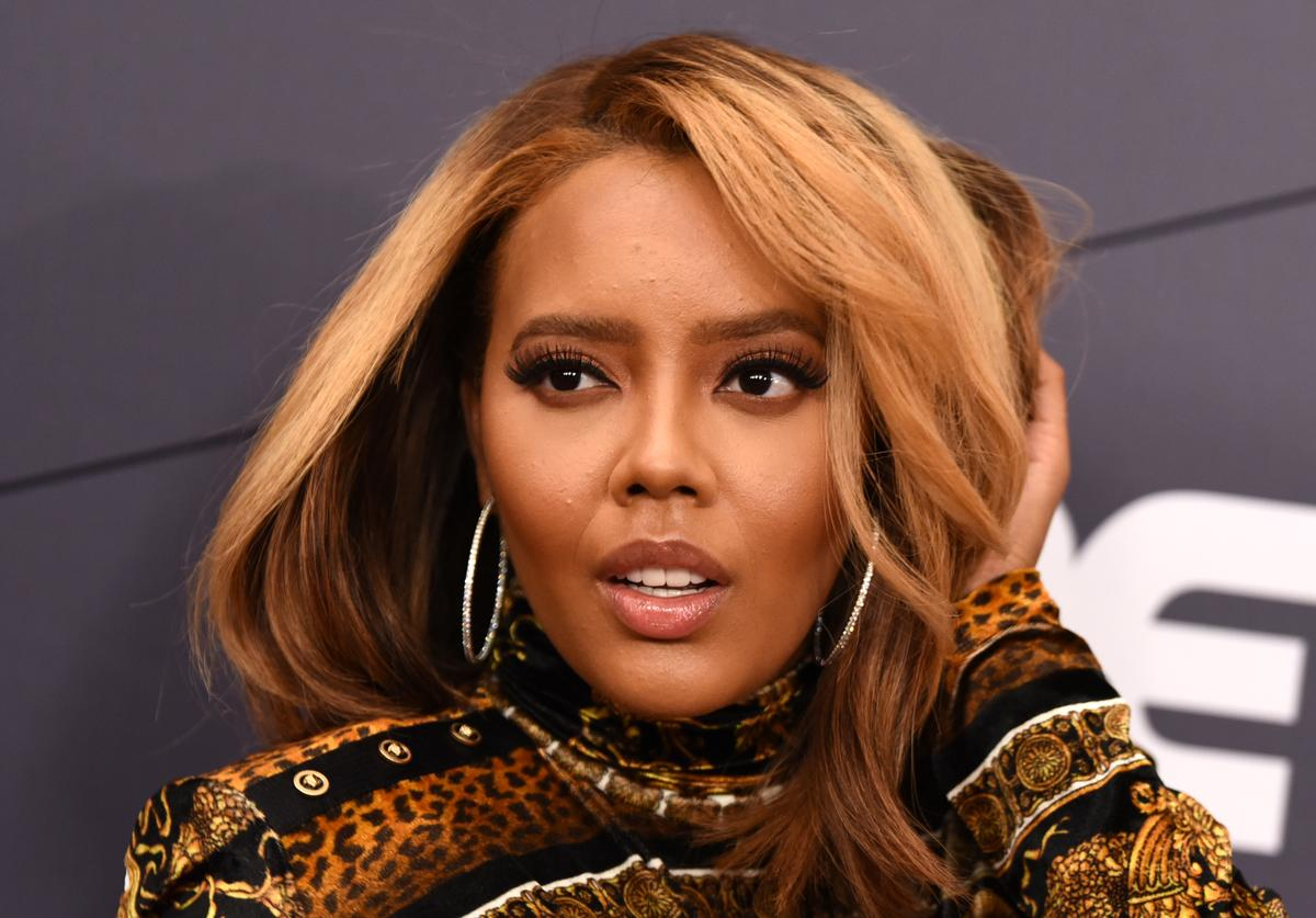 Angela Simmons attends the Black Girls Rock! 2018 Red Carpet at NJPAC on August 26, 2018 in Newark, New Jersey