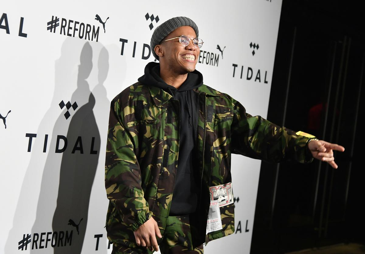 Anderson .Paak attends the 4th Annual TIDAL X: Brooklyn at Barclays Center of Brooklyn on October 23, 2018 in New York City.