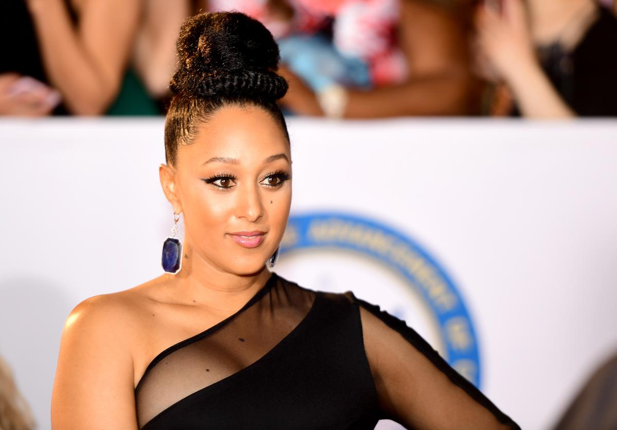 Tamera Mowry-Housley attends the 49th NAACP Image Awards at Pasadena Civic Auditorium on January 15, 2018 in Pasadena, California