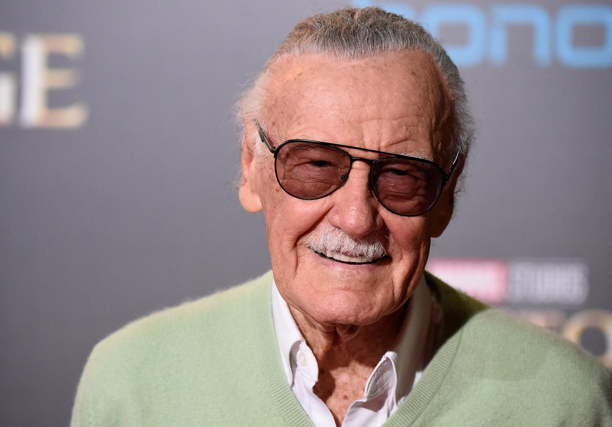 Stan Lee attends the Premiere of Disney and Marvel Studios' 'Doctor Strange' on October 20, 2016 in Hollywood, California
