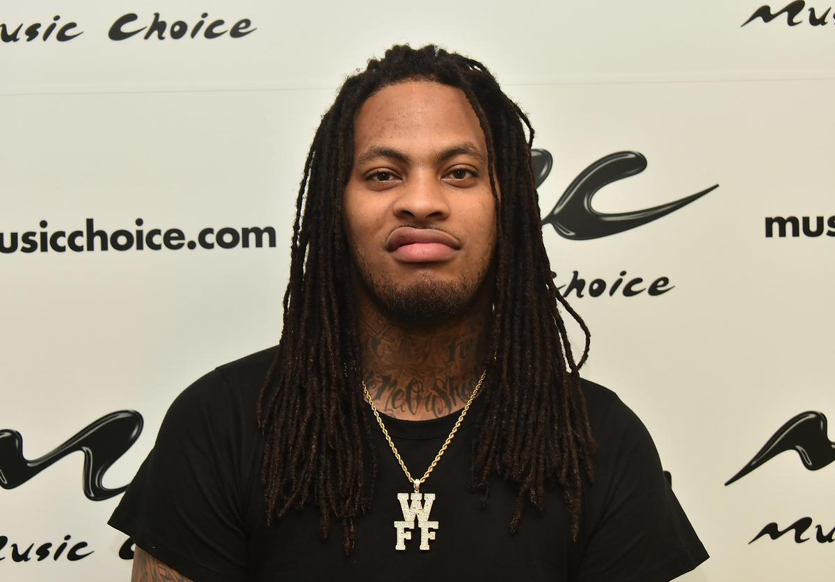 Waka Flocka Flame Visits Music Choice on April 22, 2015 in New York City